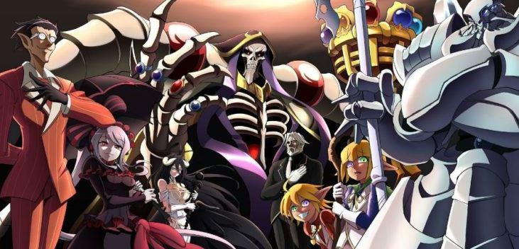 Overlord - best dark anime