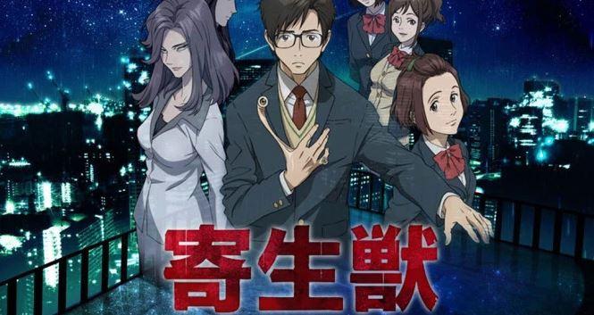 Parasyte the Maxim - best dark anime