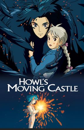howls moving castle - best adventure movies