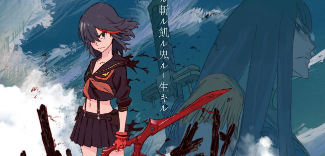 kill la kill - best assassin anime
