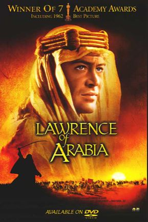lawrence of arabia - best adventure movies