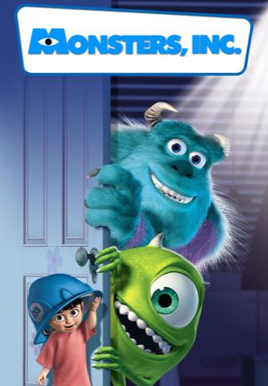 monster inc - best adventure movies