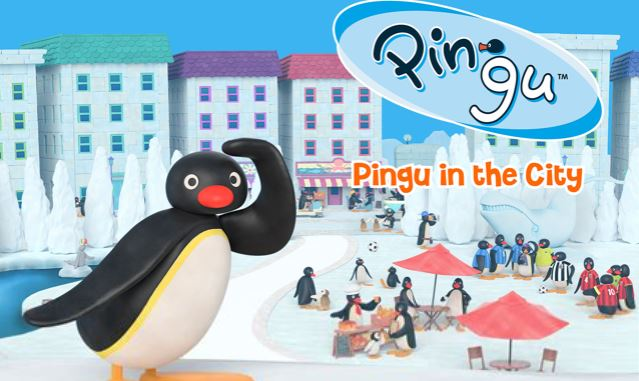 pingu in the city - best slice of life anime