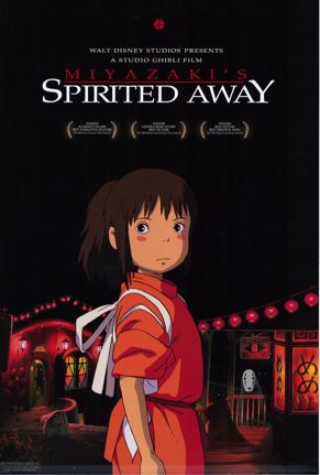 spirited away - best adventure movies