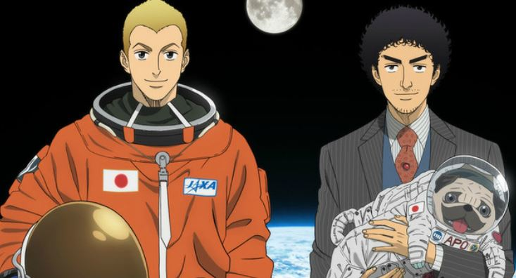 space brothers - best slice of life anime - best adult anime