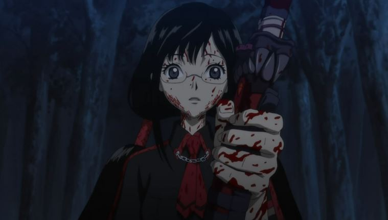 blood c - best gory anime