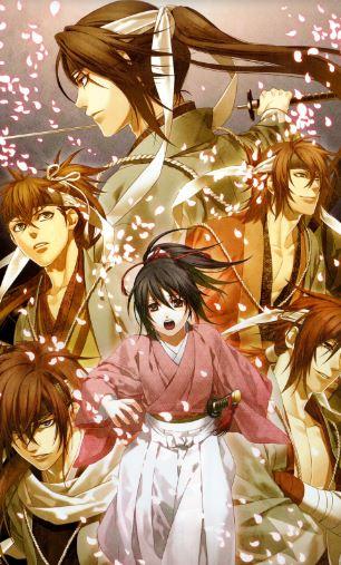 Hakuouki - action romance anime