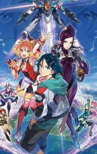 Macross Delta - action romance anime