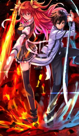 Rakudai kishi no cavalry - action romance anime