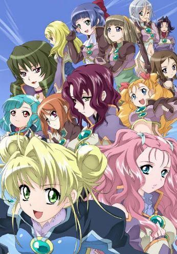 Simoun - Best Yuri Anime