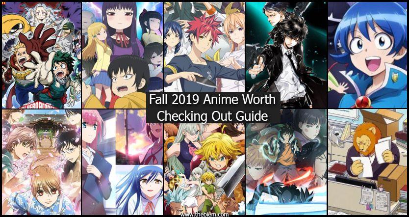 Fall Anime 2019
