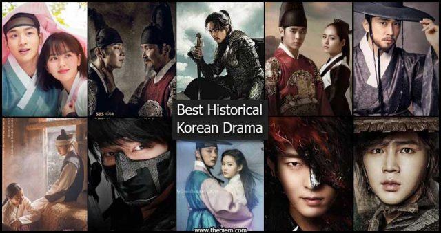 Best Historical Korean Drama - Best Historcial Korean Drama