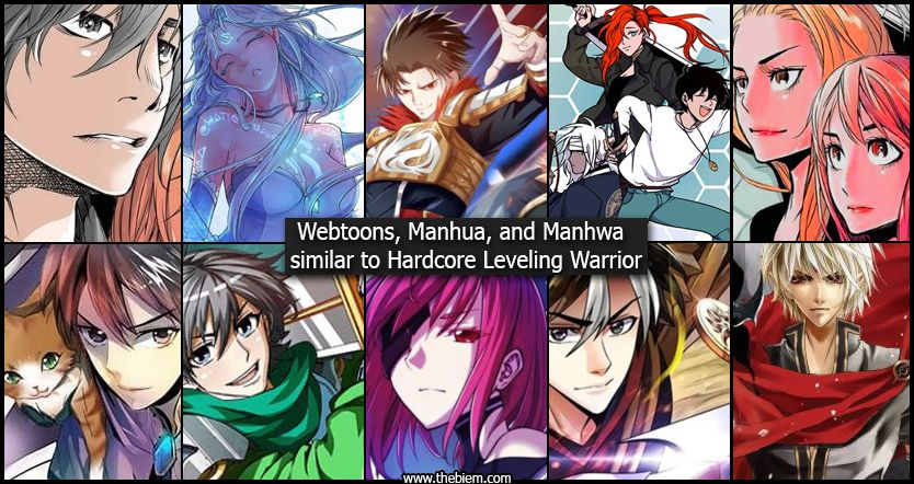 Webtoons Manhwa and Manhua Similar to Hardcore Leveling Warrior