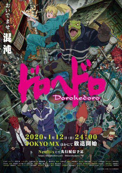 Dorohedoro Winter 2020 Anime