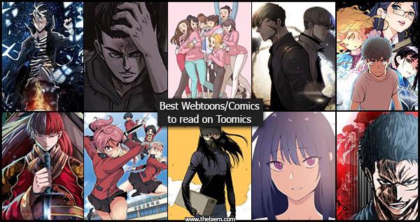 Best Comics and Webtoons to read on Toomics