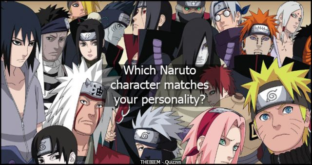Which Naruto Character Matches Your Personality