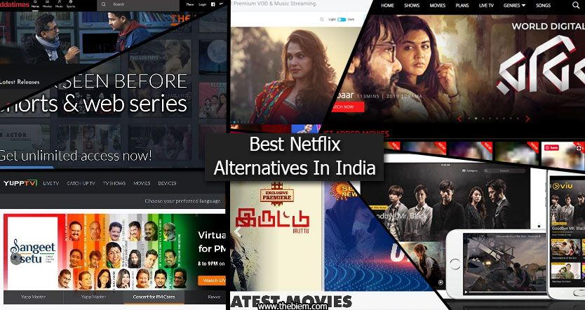 Best Netflix Alternatives in India Featured Image