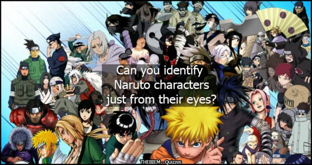 Can you identify Naruto characters just from their eyes?