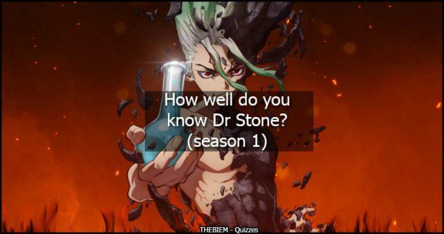 How well do you know Dr Stone - season 1 hard mode - thebiem quiz