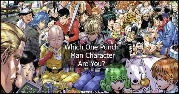 Which One Punch Man Character Are You - Thebiem Quiz