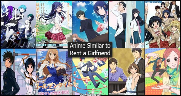 Anime Similar to Rent a Girlfriend