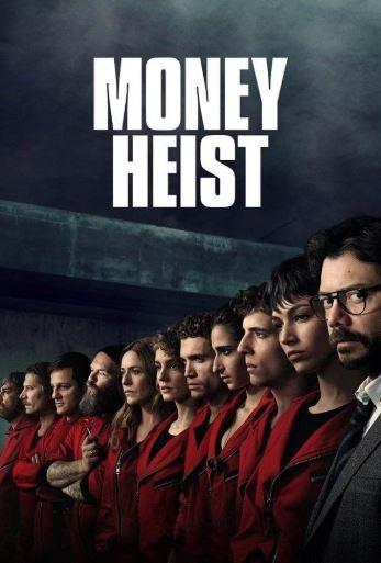 Money Heist - trending on Netflix India